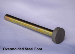 Connector Overmolding - Overmolded Steel Foot